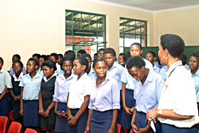 Chromite school choir
